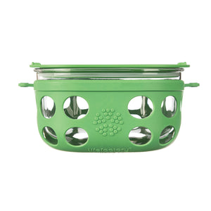 Lifefactory Large Reusable Food Container Green