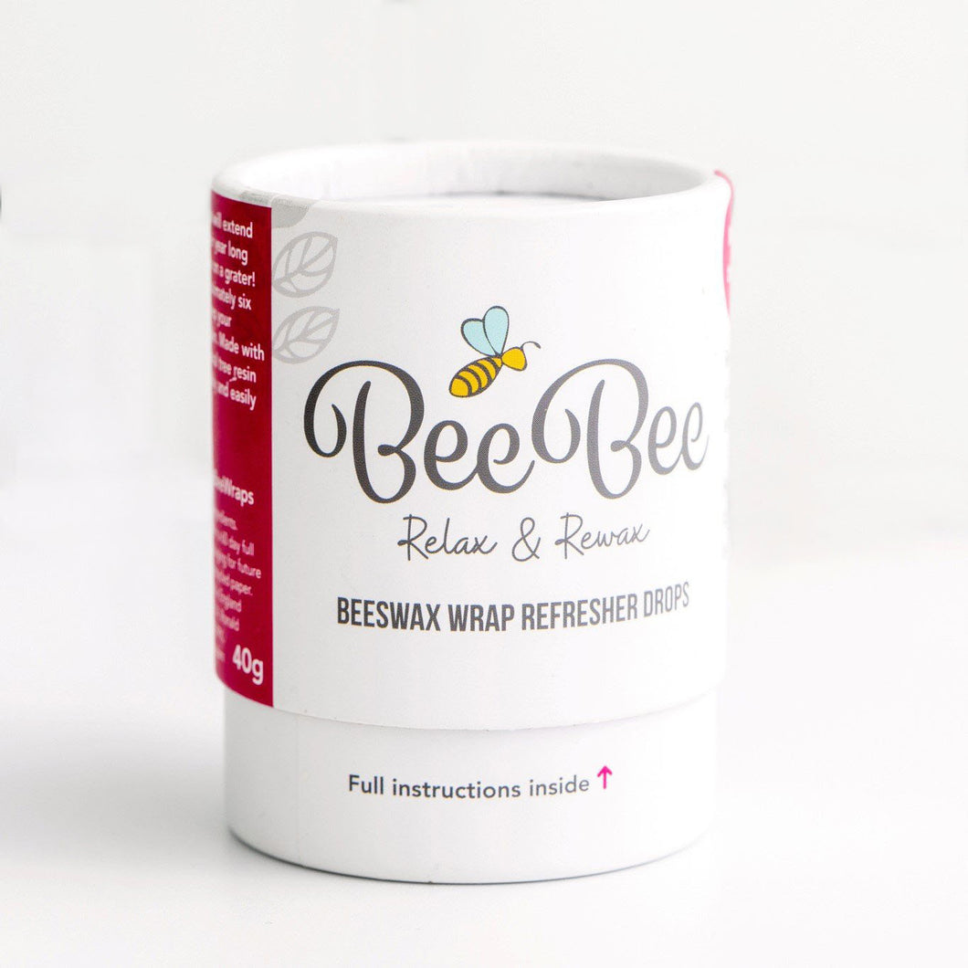 Beeswax Wrap Refresher Drops