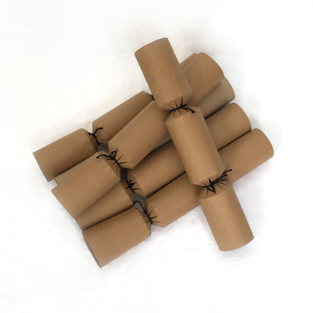 Plastic free Christmas crackers