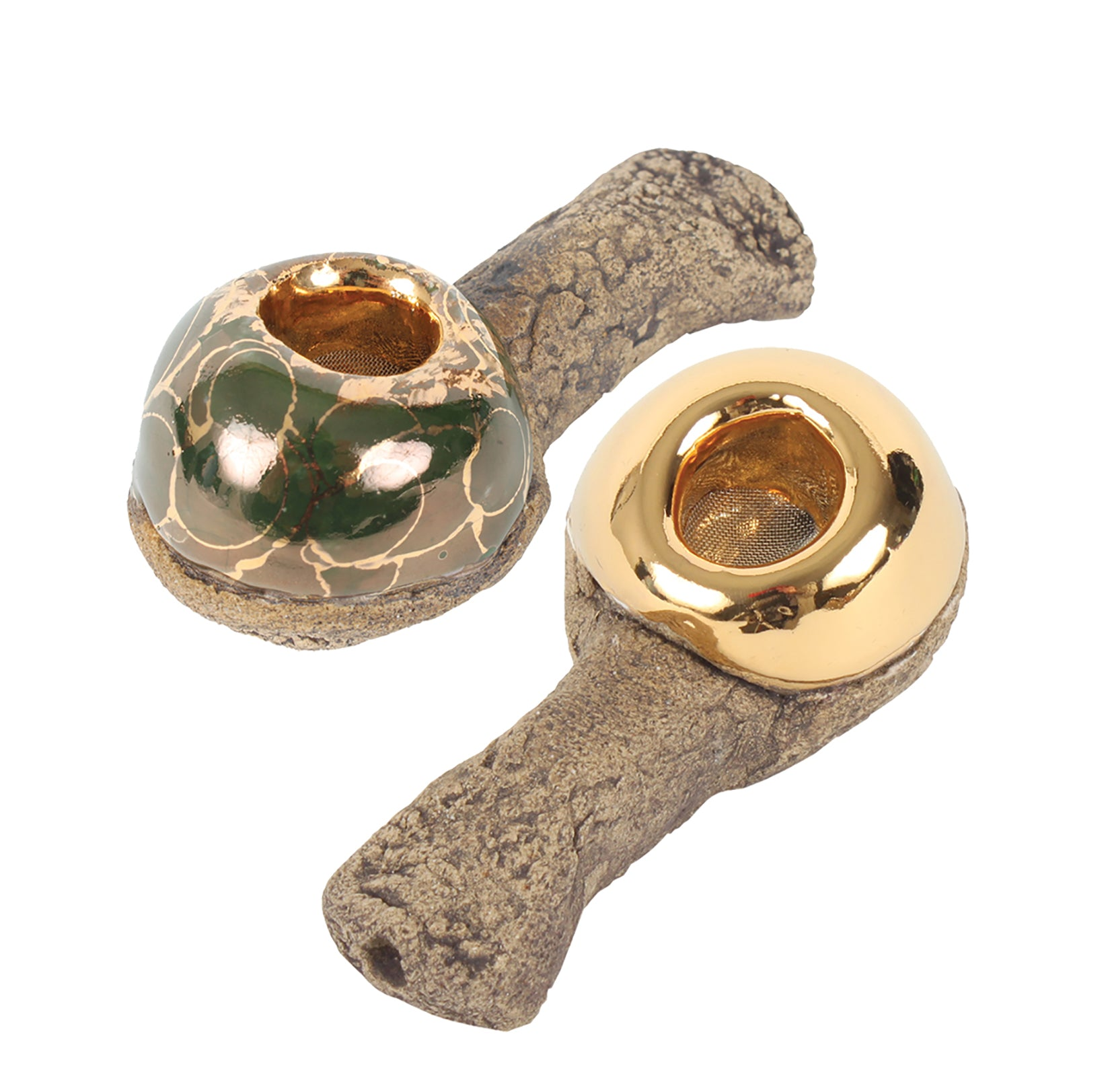 2 Pipes   4oz Kleen Green Gold - Celebration Pipes