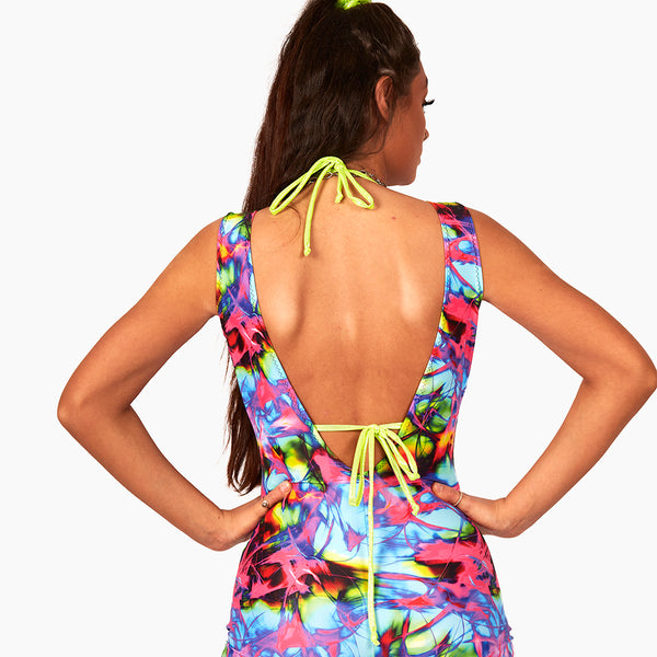 The extreme plunge playsuit (all colour options)