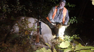 Hunter Harvests Monster Cow Elk During 100 Year Elk Hunting In Michigan