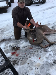 Dad Gives Recommendation and Son Harvests 10 Point Buck Using Buck Baits Doe In Heat!