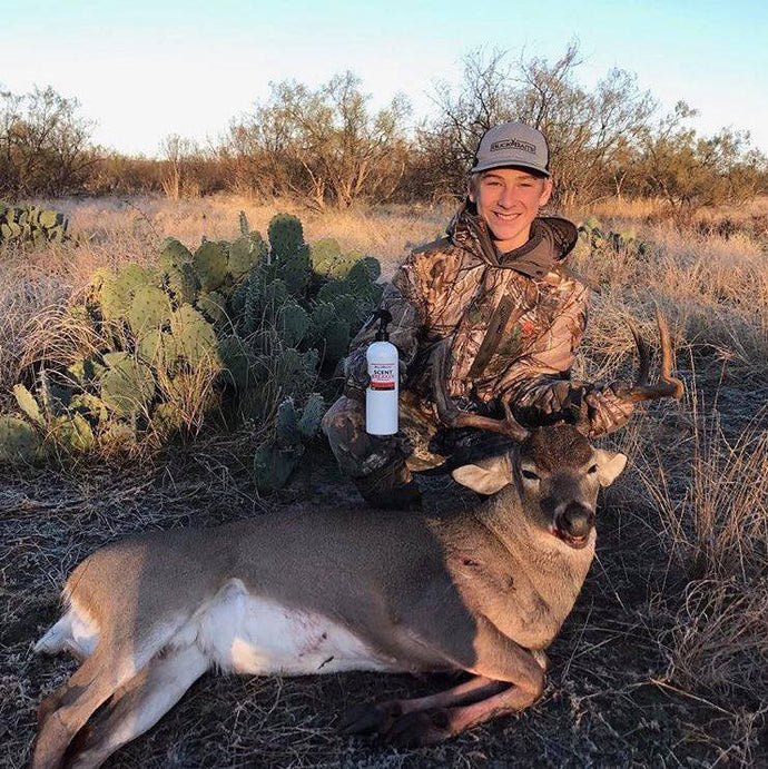 Youth Pro Staff Harvest 9 Point In Texas | Two Years In Row With Buck Baits
