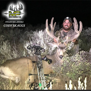 Professional and Trophy Results!  Cody Skaggs Harvests Beautiful In Velvet 13 Point  Mule Deer In Colorado