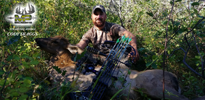 Success Again!  Archery Hunter Cody Skaggs Takes Down Cow Elk In Colorado