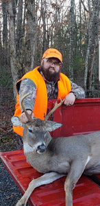 8 Point; First Male Hunter to Harvest A Buck Three Years In A Row With Buck Baits Synthetics
