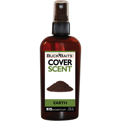 Earth Cover Scent 4 oz. - Buck Baits