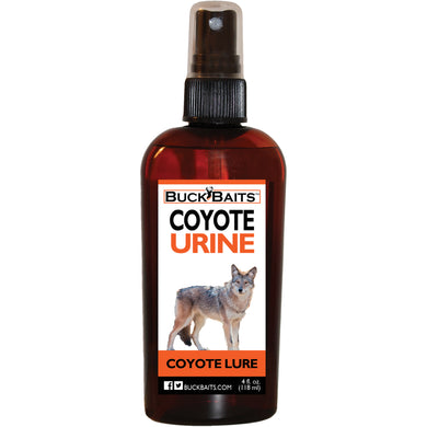 Coyote Urine Lure and Deterrent 4 oz. - Buck Baits