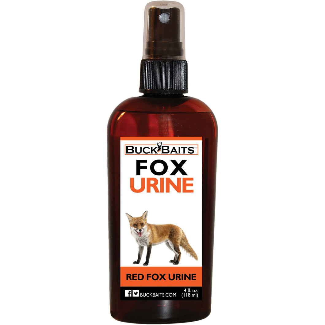 Red Fox Urine Lure  4 oz. - Buck Baits