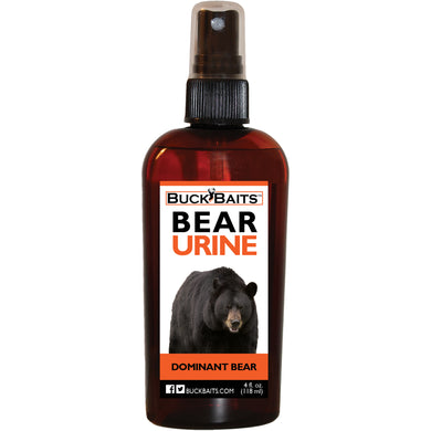 Dominate Bear Urine Lure 4 oz. - Buck Baits