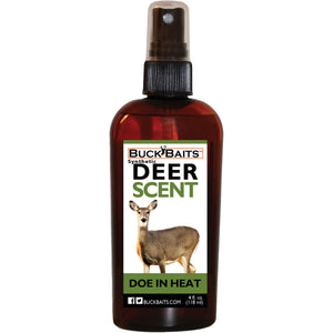 Synthetic Doe In Heat Urine Scent Buck Lure 4 oz. - Buck Baits