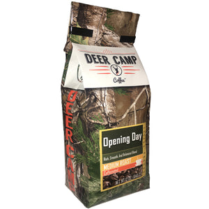 Opening Day™ Medium Roast Ground 12 oz. - Buck Baits