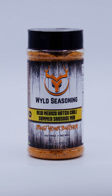 Wyld Seasoning New Mexico Hatch Chili Summer Sausage Mix  10.3 oz.