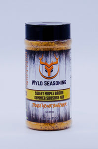 Wyld Seasoning Sweet Maple Bacon Summer Sausage Mix 11.2 oz.