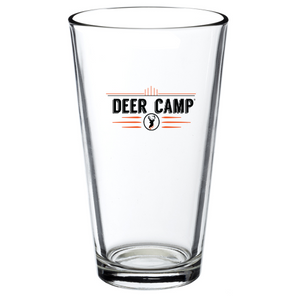 Deer Camp® 16 oz. Logo Cold Brew Pub Pint Glass