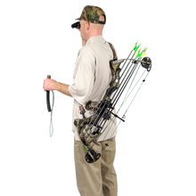 Bow Stay™ 2 In 1 Holder And Carry in Black - Buck Baits