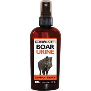 Dominate Boar Urine 4 oz. - Buck Baits