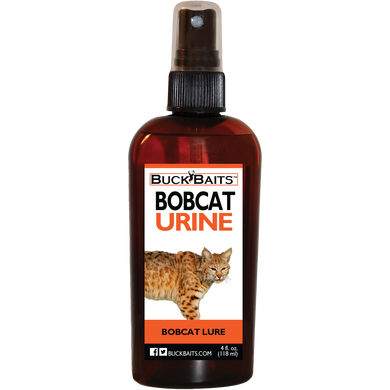 Bobcat Urine Lure and Deterrent 4 oz. - Buck Baits