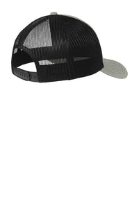 Buck Baits  Heather Grey / Black  Gray Logo Snapback Cap - Buck Baits