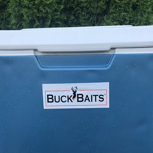 Buck Baits Hunting/Outdoor Sports Logo Decal Sticker - Buck Baits