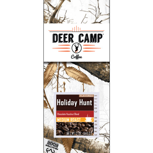 Holiday Hunt™ Chocolate Hazelnut Featuring Realtree EDGE™ Colors 12 oz Medium Roasted Ground Coffee