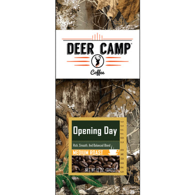 DEER CAMP® Opening Day™ Featuring Realtree EDGE™ Colors 12 oz. Medium Roast Ground Coffee