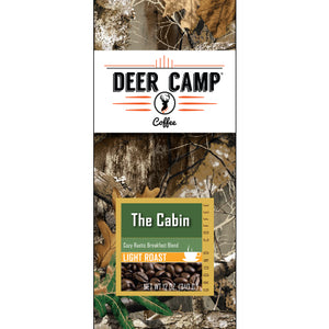 DEER CAMP® Coffee The Cabin™ featuring Realtree EDGE™ Colors 12 oz. Light Roasted Ground Coffee