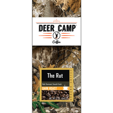 DEER CAMP® The Rut™ Featuring Realtree EDGE™ Colors 12 oz. Dark Roasted Ground Coffee