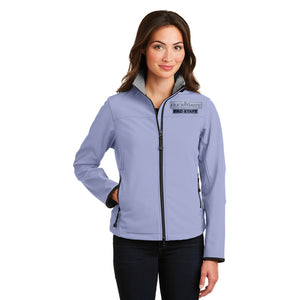 Buck Baits Female Pro Staff Logo Jacket Black and Chrome