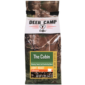 The Cabin™ Light Roasted Ground Coffee 12 oz. - Buck Baits