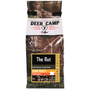 The Rut™ Dark Roasted Ground Coffee 12 oz. - Buck Baits