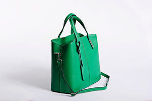 Bright Green Satchel handbag