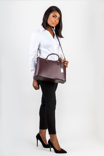 Classic, elegant, timeless piece of leather Tote, Shoulder bag, Handbag for the working woman