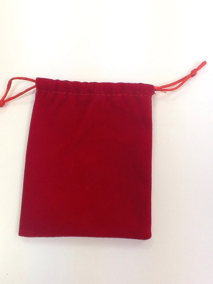 Red bag necklaces