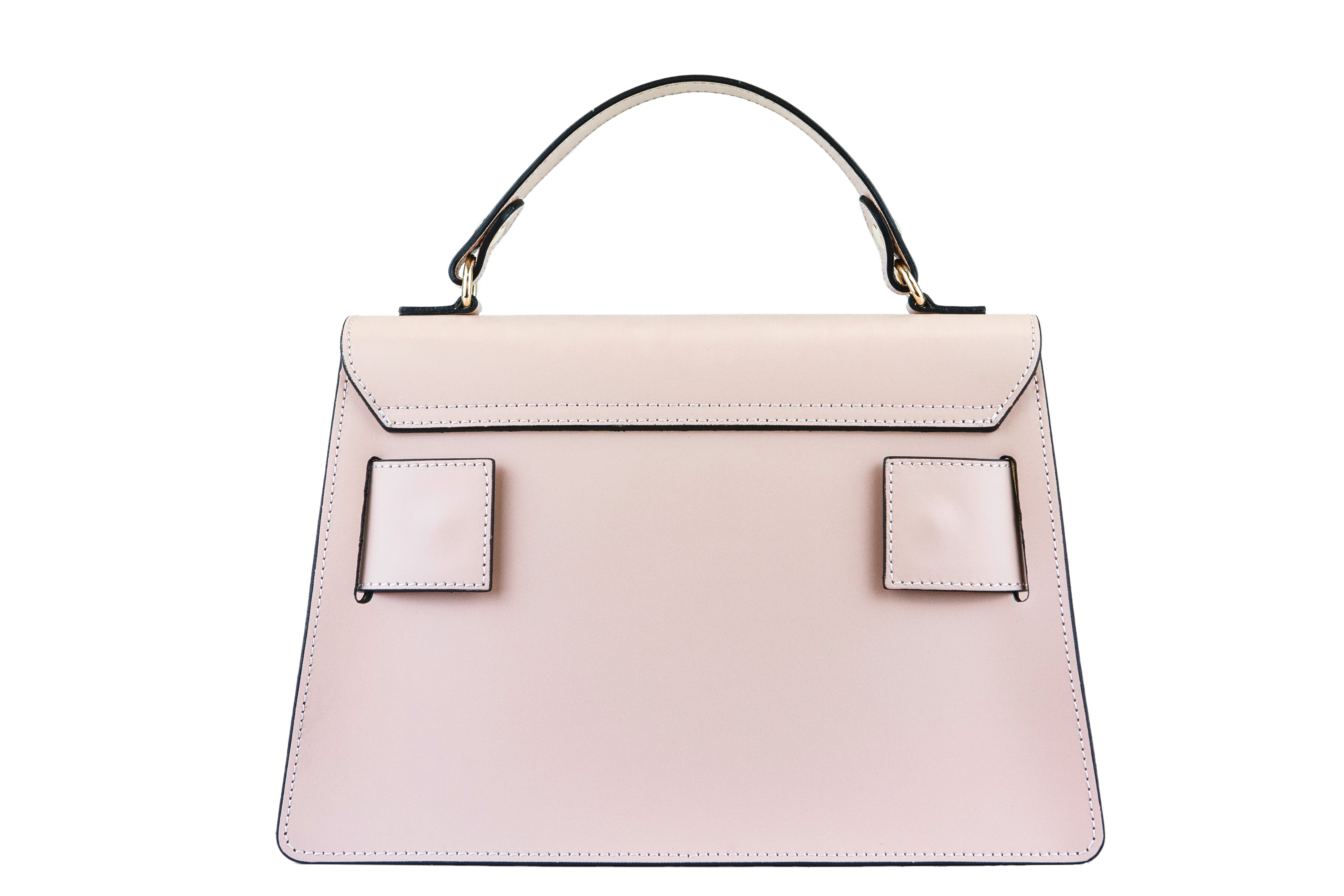 Freesia - Belted Leather Handbag