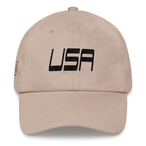 Native Realm - USA Embroidered Hats - Flat Brim Low Profile