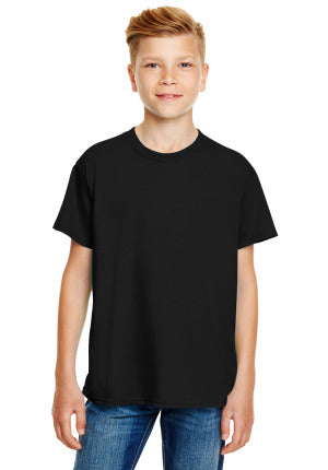 Youth Lightweight Fashion T-Shirt with Tear Away Label
