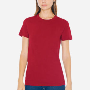 Fine Jersey Short Sleeve Women T-Shirt