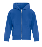 EVERYDAY FLEECE FULL ZIP YOUTH HOODED SWEATSHIRT