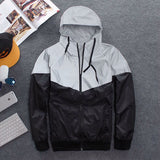 Waterproof Reflective Windbreaker