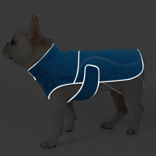 Fleece Dog Reflective Safety Vest