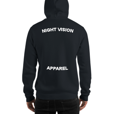 --DESIGN YOUR OWN--Night Vision Apparel® Long Sleeve Hoodie