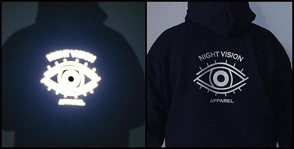 Night Vision Fleece Pull Over Hoodie