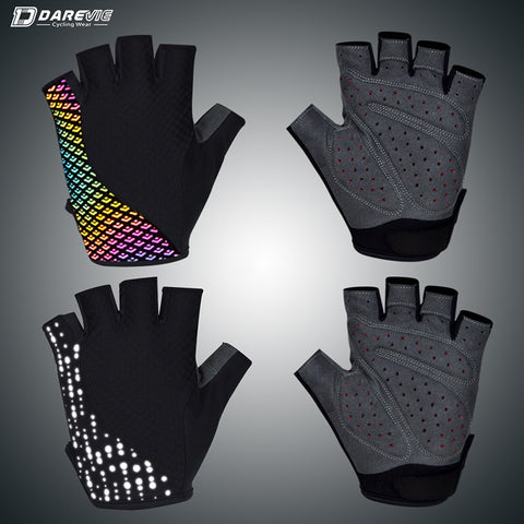 Half Finger Reflective Cycling Gloves