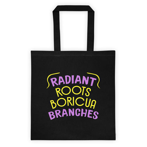 Radiant Roots Boricua Branches Tote bag