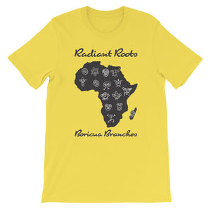 Radiant Roots Boricua Branches T-Shirt