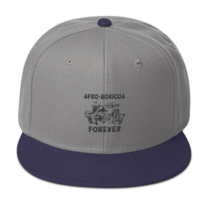 Afro-Boricua Forever Snapback Hat