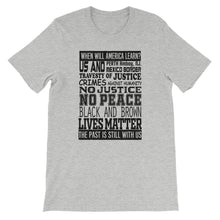 When Will America Learn T-Shirt