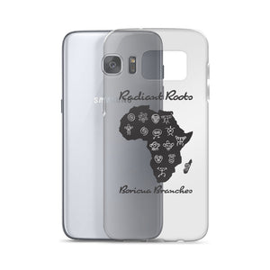 Radiant Roots Boricua Branches Samsung Phone Case